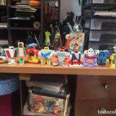 Figuras y Muñecos Transformers: COLECCION DE 10 LETRABOTS - ALFAROBOTS TIPO TRANSFORMER . Lote 180155831