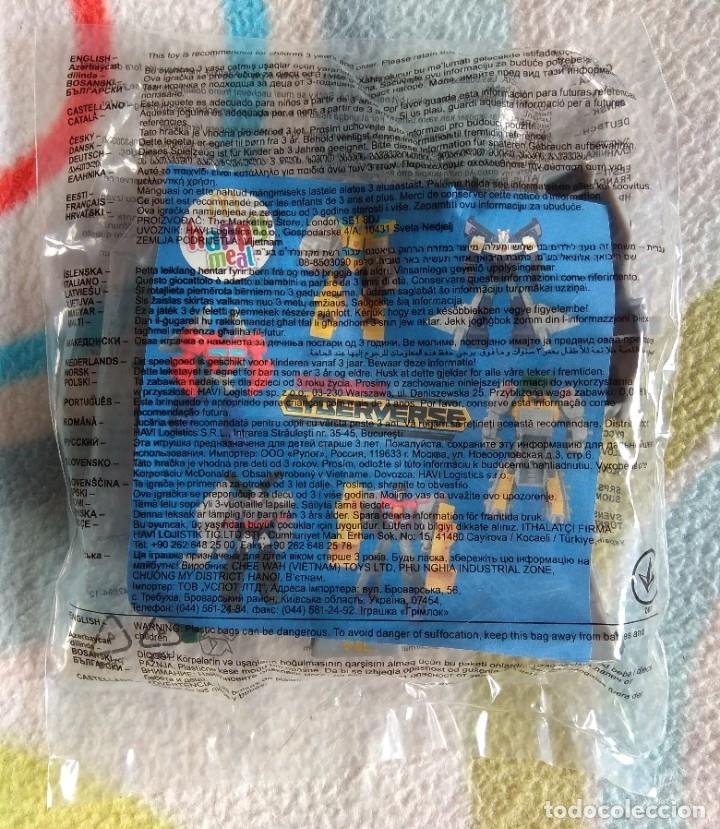 Figuras y Muñecos Transformers: JUGUETE / FIGURA GRIMLOCK (TRANSFORMERS) NUEVA Y PRECINTADA - HAPPY MEAL MCDONALDS - Foto 2 - 180248411
