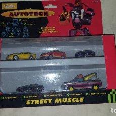 Figuras y Muñecos Transformers: AUTOTECH TRANSFORMERS DE FAMOSA. Lote 182389897