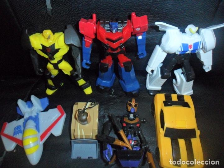 TRANSFORMERS - COLECCION LOTE DE 7 FIGURAS DE ACCION VARIADAS - (Juguetes - Figuras de Acción - Transformers)