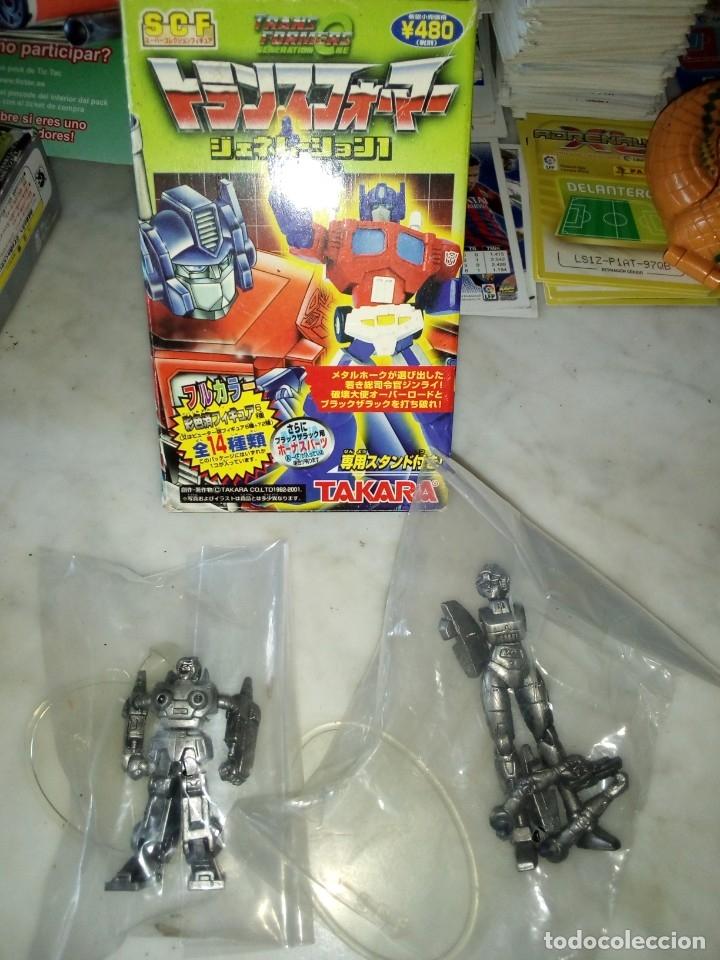 TRANSFORMER DE TAKARA SCF. AÑO 2001 (Juguetes - Figuras de Acción - Transformers)