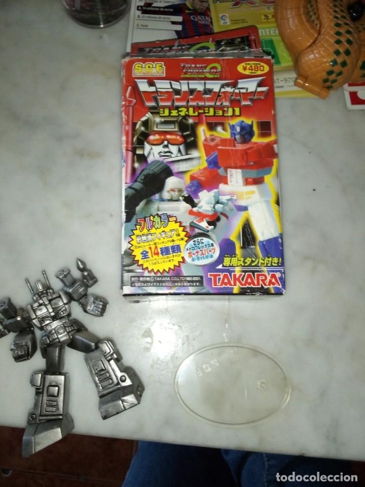 Figuras y Muñecos Transformers: Transformer de Takara SCF. Año 2001 - Foto 2 - 182465558