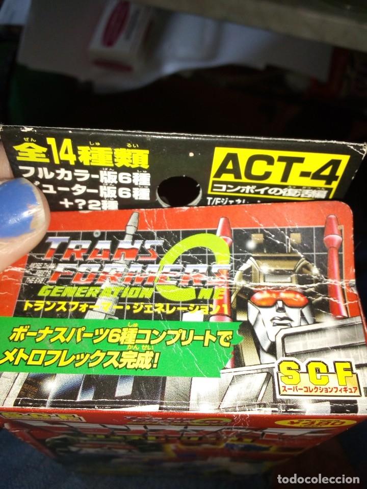 Figuras y Muñecos Transformers: Transformer de Takara SCF. Año 2001 - Foto 3 - 182465558