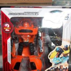 Figuras y Muñecos Transformers: COCHE TRANSFORMER SUPER WARRIOR EN BLISTER. Lote 182753871