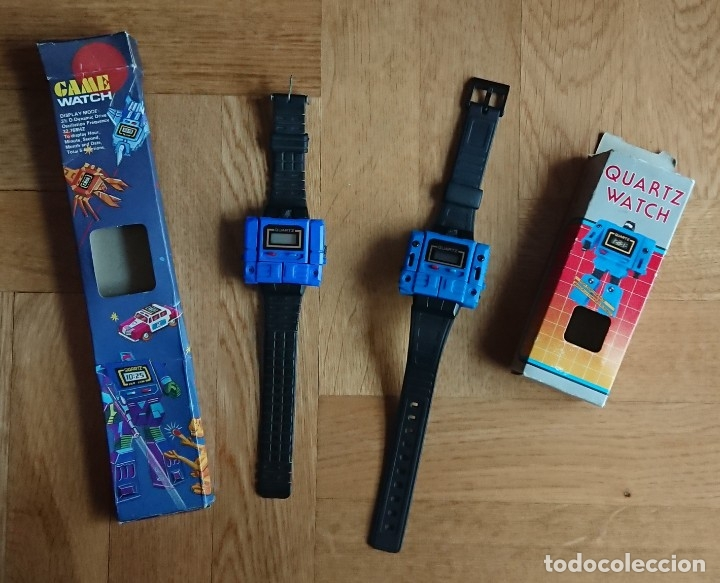 LOTE DOS RELOJES TRANSFORMERS, TRANSFORMER, GAME WATCH (Juguetes - Figuras de Acción - Transformers)