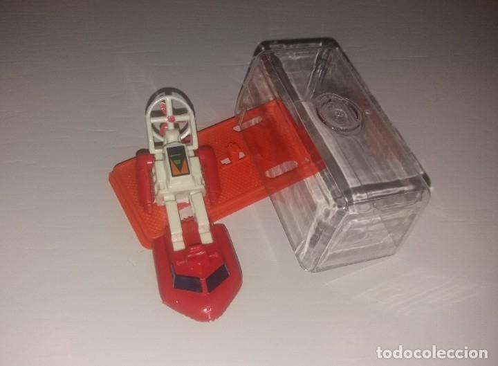 JUGUETE COCHE PLÁSTICO. GISIMA TRANSFORMERS. LANCHA ROJA Y BLANCA, CAJA ROJA NUEVO 80/90 TRANSFORMER (Juguetes - Figuras de Acción - Transformers)
