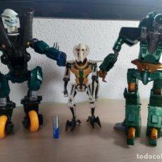Figuras y Muñecos Transformers: ROBOTS TIPO TRANSFORMERS + FIGURA STAR WARS- VARIOS. Lote 183379118