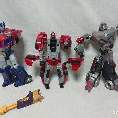 Figuras y Muñecos Transformers: TRANSFORMERS - LOTE DE MUÑECOS TRANSFORMERS PARA REPARAR . Lote 183465530