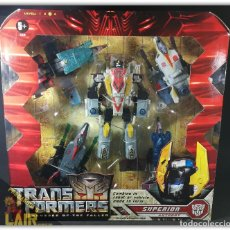 Figuras y Muñecos Transformers: TRANSFORMERS MOVIE REVENGE OF THE FALLEN ROTF AERIALBOTS SUPERION NEW MISB. Lote 184784053