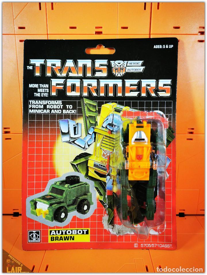 TRANSFORMERS G1 BRAWN KO OPENED COMPLETE (Juguetes - Figuras de Acción - Transformers)