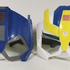 Figuras y Muñecos Transformers: MÁSCARAS / CARETAS DE OPTIMUS PRIME Y STRONGARM - TRANSFORMERS ROBOTS IN DISGUISE . Lote 185779378
