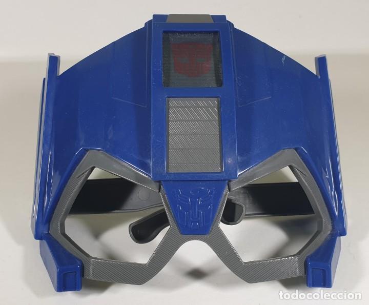Figuras y Muñecos Transformers: Máscaras / Caretas de Optimus Prime y Strongarm - Transformers Robots in Disguise - Foto 3 - 185779378