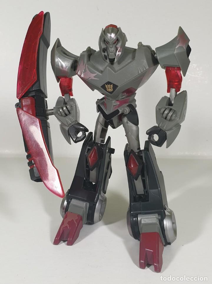 MEGATRON - DEL BOXED SET THE BATTLE BEGINS DE TRANSFORMERS ANIMATED (Juguetes - Figuras de Acción - Transformers)