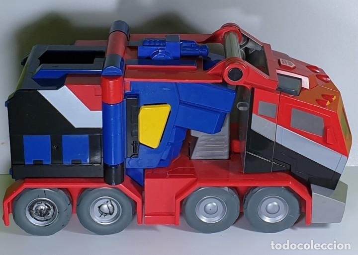 OPTIMUS PRIME - ROLEPLAY BATTLE BLASTER - TRANSFORMERS ANIMATED (Juguetes - Figuras de Acción - Transformers)
