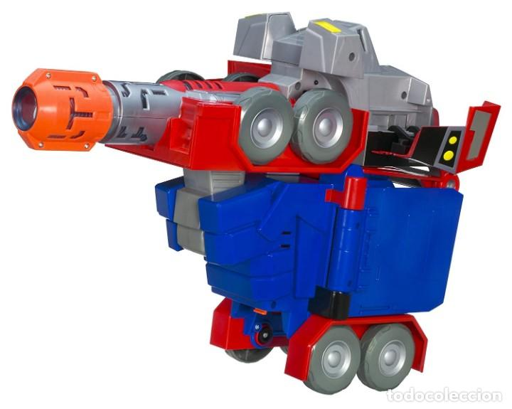 Figuras y Muñecos Transformers: Optimus Prime - Roleplay Battle Blaster - Transformers Animated - Foto 3 - 185785578