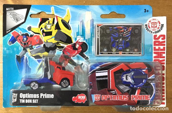 TRANSFORMERS TIN BOX SET OPTIMUS PRIME (Juguetes - Figuras de Acción - Transformers)