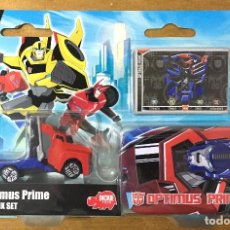 Figuras y Muñecos Transformers: TRANSFORMERS TIN BOX SET OPTIMUS PRIME. Lote 187447646