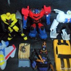 Figuras y Muñecos Transformers: TRANSFORMERS - COLECCION LOTE DE 7 FIGURAS DE ACCION VARIADAS -. Lote 188494867