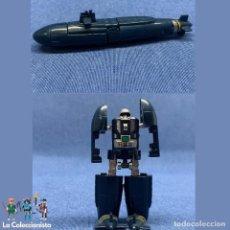 Figuras y Muñecos Transformers: SUBMARINO BUCEO - BANDAI GOBOTS - ROBOT TRANSFORMADOR AZUL MARINO MR-33 AÑOS 80´S. Lote 191090587