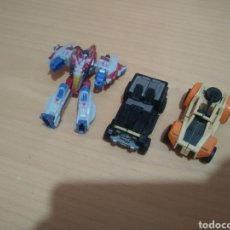 Figuras y Muñecos Transformers: LOTE DE 3 MINI COCHES TRANSFORMES ANTIGUOS.. Lote 191266276
