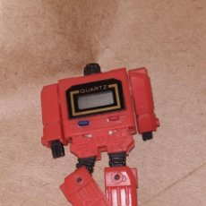 Figuras y Muñecos Transformers: RELOJ TRANSFORMABLE ROJO TRANSFORMER QUARTZ WATCH. Lote 191658425