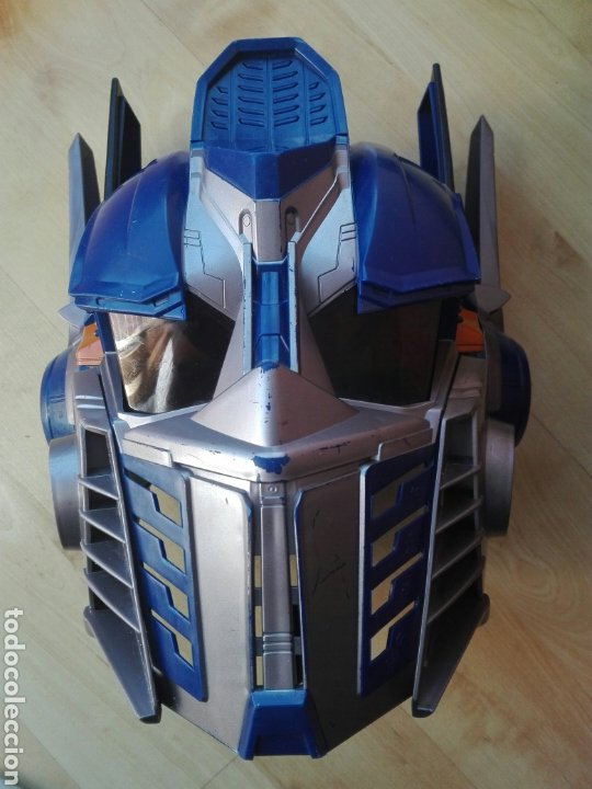 MASCARA CASCO OPTIMUS PRIME TRANSFORMERS CON SONIDO Y FRASES (Juguetes - Figuras de Acción - Transformers)