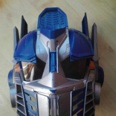 Figuras y Muñecos Transformers: MASCARA CASCO OPTIMUS PRIME TRANSFORMERS CON SONIDO Y FRASES. Lote 192701665