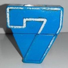 Figuras y Muñecos Transformers: NUMEROBOTS : ANTIGUO TRANSFORMER NUMEROBOT Nº 7 DE RIMA AÑOS 80. Lote 193303048