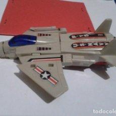 Figuras y Muñecos Transformers: TRANFORMER ( MOTOBOTS - AVIÓN F-15 TRANSFORMABLE MACAO EN LOS 80S ) INCOMPLETO VER FOTOS. Lote 193441122