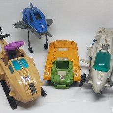 Figuras y Muñecos Transformers: LOTE NAVES TRANSFORMERS TAKARA 1989. Lote 193615830