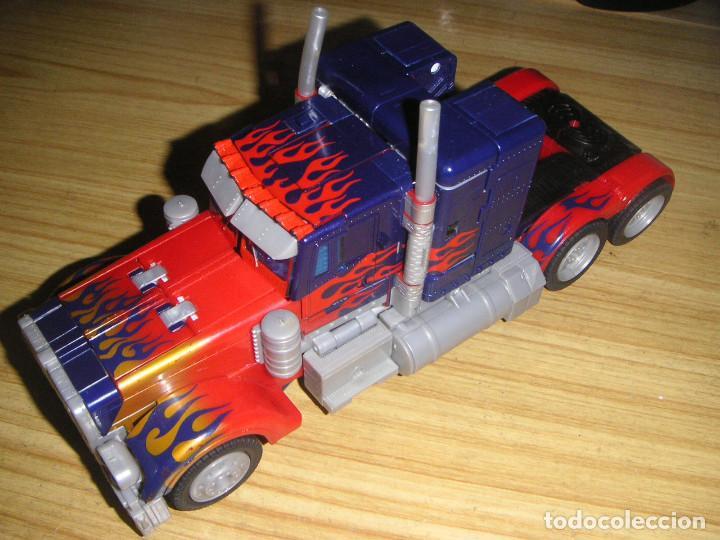 TRANSFORMER OPTIMUS PRIMER LEADER CLASS (HASBRO, 2007) TRANSFORMERS MOVIE (Juguetes - Figuras de Acción - Transformers)