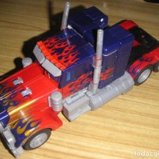 Figuras y Muñecos Transformers: TRANSFORMER OPTIMUS PRIMER LEADER CLASS (HASBRO, 2007) TRANSFORMERS MOVIE . Lote 193950303