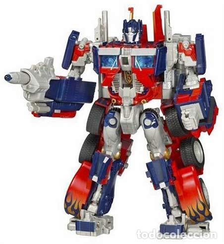 Figuras y Muñecos Transformers: Transformer Optimus Primer Leader Class (Hasbro, 2007) Transformers Movie - Foto 5 - 193950303