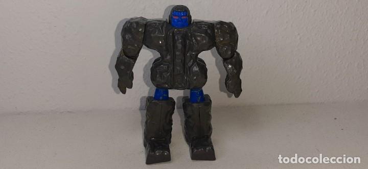 GOBOTS ROCK LORDS : ANTIGUO MUÑECO TRANSFORMER ROCKLORDS - GRANITE - BANDAI AÑO 1985 TONKA (Juguetes - Figuras de Acción - Transformers)