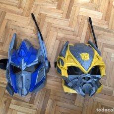 Figuras y Muñecos Transformers: LOTE MASCARAS TRANSFORMERS. Lote 194541895