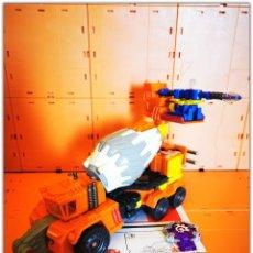 Figuras y Muñecos Transformers: TRANSFORMERS HASBRO CYBERTRON QUICKMIX + STRIPMINE LOOSE COMPLETE. Lote 194985858