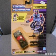 Figuras y Muñecos Transformers: TRANSFORMERS EN BLISTER - STUNTICON ( DECEPTICON - WILD RIDER ) . Lote 195096003