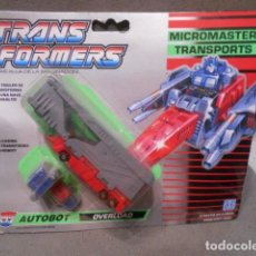 Figuras y Muñecos Transformers: TRANSFORMERS EN BLISTER - MICROMASTER TRANSPORTS. Lote 195096618