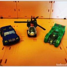 Figuras y Muñecos Transformers: TRANSFORMERS HASBRO CYBERTRON RECON MINICON TEAM LOOSE COMPLETE. Lote 195458237