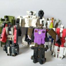 Figuras y Muñecos Transformers: LOTE 9 TRANSFORMERS HASBRO 1986 1982 AÑOS 80. Lote 195471317