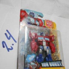 Figuras y Muñecos Transformers: ANTIGUO BLISTER OPTIMUS PRIME PRECINTADO. Lote 197861206