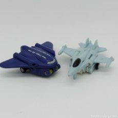 Figurines et Jouets Transformers: TREAD BOLT Y EAGLE EYE, TRANSFORMERS MICROMASTER AIR PATROL DE HASBRO, AÑO 1990 TAKARA. Lote 198763467