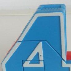 Figuras y Muñecos Transformers: FIGURA MUÑECO ROBOT NUMEROBOTS NUMEROBOT NUMERO 4- TRANSFORMABLE. Lote 198972731