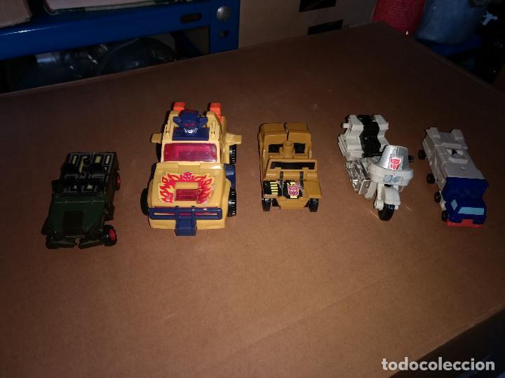 LOTE 5 FIGURA DE ACCIÓN, TRANSFORMER AUTOBOT, ROBOT - COCHE-MOTO DE LOS AÑOS 80-90 (Juguetes - Figuras de Acción - Transformers)
