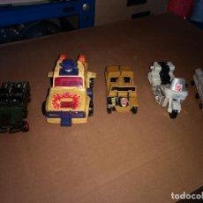 Figuras y Muñecos Transformers: LOTE 5 FIGURA DE ACCIÓN, TRANSFORMER AUTOBOT, ROBOT - COCHE-MOTO DE LOS AÑOS 80-90. Lote 199336157