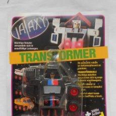 Figuras y Muñecos Transformers: ANTIGUO BLISTER GALAXY TRANSFORMER BOOTLEG - SIMBA - AÑOS 80 - NUEVO. Lote 200182282