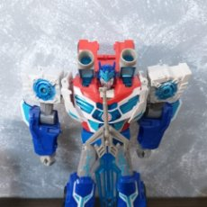 Figuras y Muñecos Transformers: HASBRO TRANSFORMERS RID POWER SURGE OPTIMUS PRIME CON LUZ Y SONIDO. Lote 201926363
