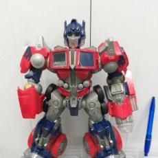 Figuras y Muñecos Transformers: TRANSFORMERS OPTIMUS PRIME HASBRO LUZ Y SONIDO FUNCIONANDO. Lote 201928750
