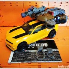 Figure e Bambolotti Transformers: TRANSFORMERS DOTM DARK OF THE MOON LEADER CLASS MECHTECH BUMBLEBEE COMPLETE. Lote 202105695