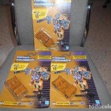 Figure e Bambolotti Transformers: LOTE DE 3 BLISTERS DE TRANSFORMERS - DECEPTICON - SWINDLE. Lote 202248617